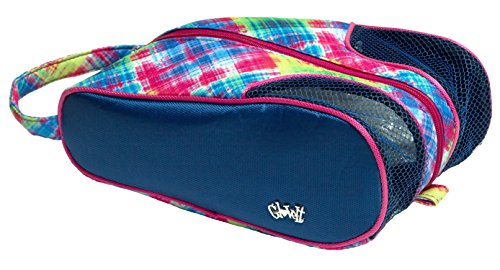 Glove It Women's Electirc Plaid Shoe Bag SB227