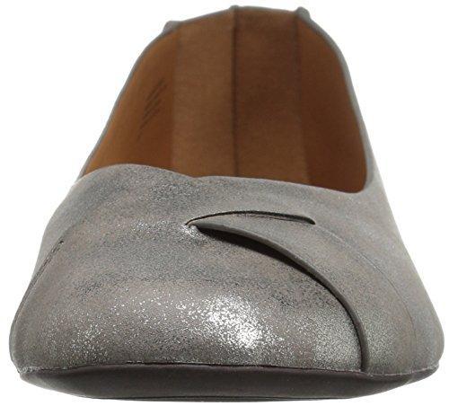Pewter Ballet Petite Metallic BC Footwear Women's Flat gqIxzYw