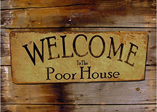#17 Welcome To The Poor House 12x16 Giclee Art Print ()
