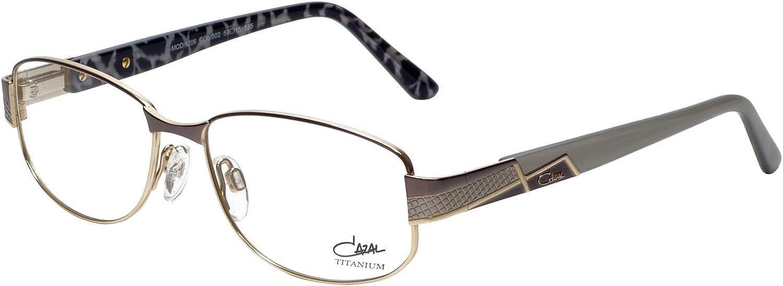 Amazon.com: Cazal Designer Eyeglass Frames 1206-002 in Grey 53mm: Clothing