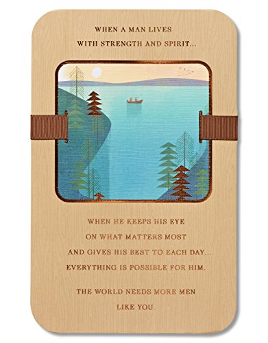 American Greetings Strength And Spirit Birthday Card for Him with Foil