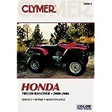 1997-2009 Workshop Manual Recon /& TRX250EX ATVs 2553 Haynes Honda Rancher