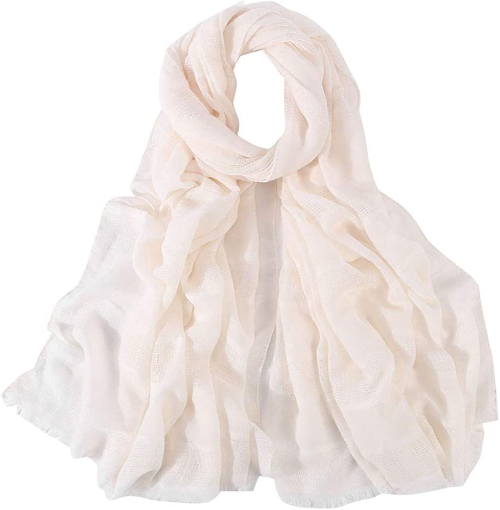 Sun Shawl Multi-Use Beach Wrap Head Scarf Large Chiffon Scarf Women Wraps