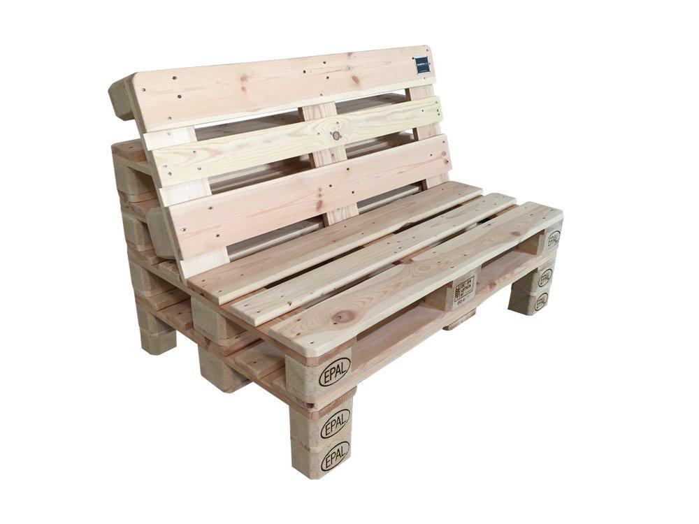 PALma Palettenmöbel 2er Sofa aus hochwertigen Möbelpaletten (mit ...