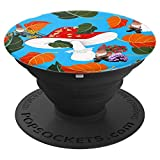 troll mushroom gnome - PopSockets Grip and Stand for Phones and Tablets