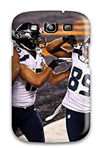 JeffreySCovey Case Cover Protector Specially Made For Galaxy S3 Seattleeahawks