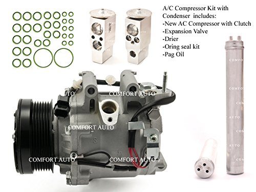 Price comparison product image 2006 2007 2008 2009 2010 2011 Honda Civic 1.8L 4 Door ONLY SEDAN New AC Compressor KIT 1 Year Warranty