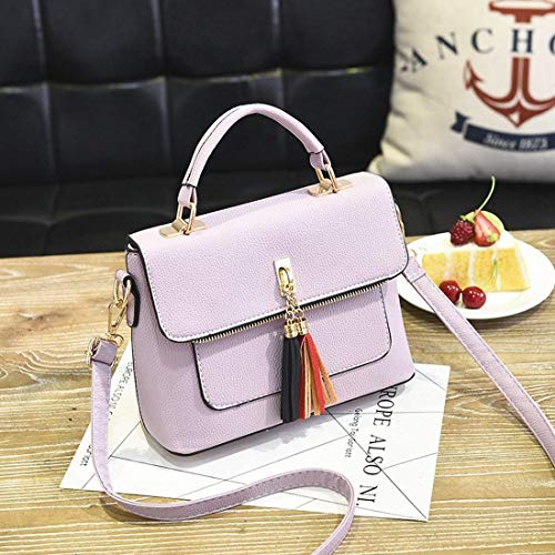 del la Bolsa los de Bolso Hombro Purple de la de Taro de Moda señoras Color de Eeayyygch tamaño Bolso de Mensajero Las Deportes x6qYXX8