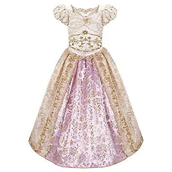 Disney, Tangled Rapunzel Wedding Costume size 5/6 Fancy Dress for ...