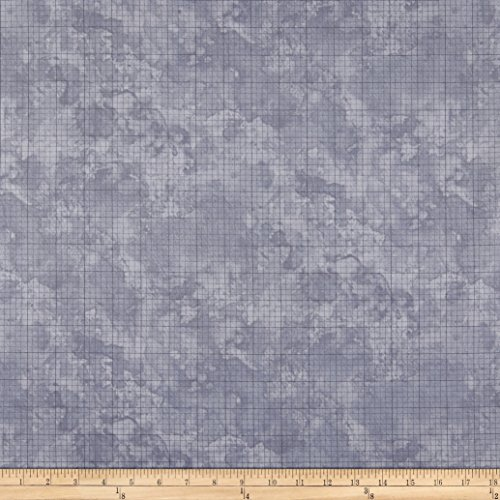 Marcus Brothers Laura Berringer Songbook The Beautiful Graph Paper Texture Blue Fabric by The Yard