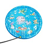 Junshion Kids Outdoor Summer Fun Game Party Toy Sprinkler pad Play Mat Toddler Water Toys
