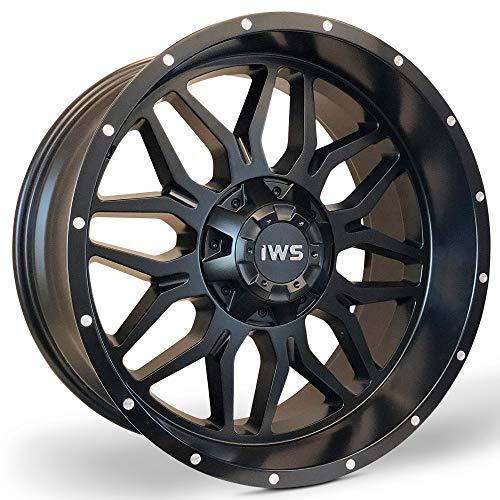Bill Smith Auto Parts Replacement For 20 Inch New Matte Black Machined Aluminum Wheel Rim Brand New 20x10 6x135 6x139.7 6x5.5 ()