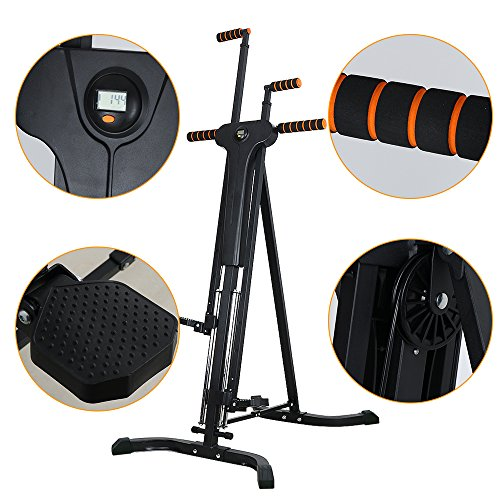 Rxlife Vertical Climber Cardio Exercise Folding Climbing Machine for Home Gym Step Climber Exercise Fitness by Rxlife (Image #2)