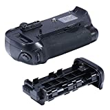 Neewer® Vertical Battery Grip Replacement for Nikon MB-D12 Works with EN-EL15 Battery Or 8AA Batteries for Nikon D800 D800E Digital SLR Cameras