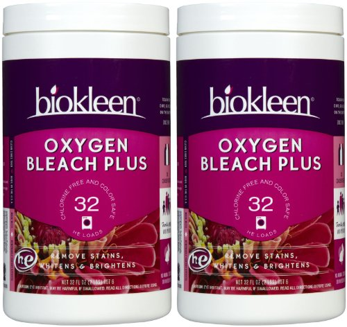 Biokleen Oxygen Bleach Plus - 32 oz - 2 pk