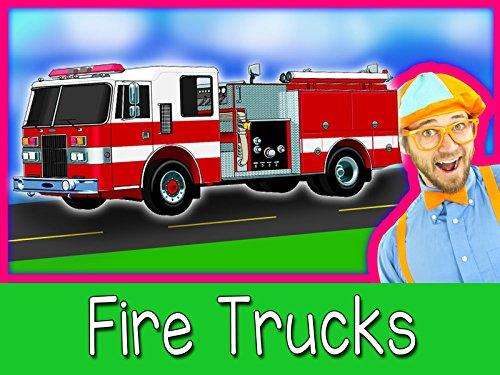 Explore A Fire Truck with Blippi - Fire Trucks for (Children Video Series)