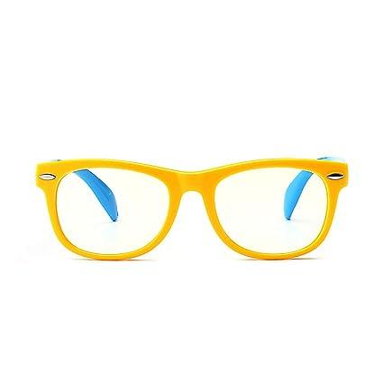 Anteojos ópticos anti-luz de luz azul antifatiga para niños ...