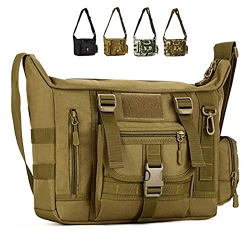 Messenger Crossbody Para Hombres School inch Laptop Shoulder Y Casual Molle Mujeres Daily Mud 14 Bag Satchel nSUUX0