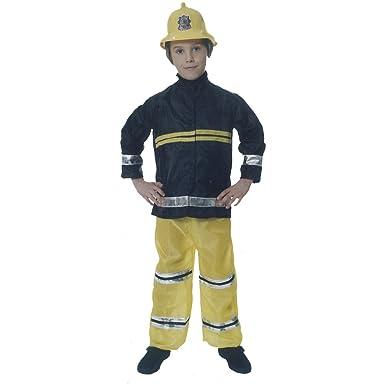Boys Fireman Fancy Dress Costume Amazon Co Uk Toys Games