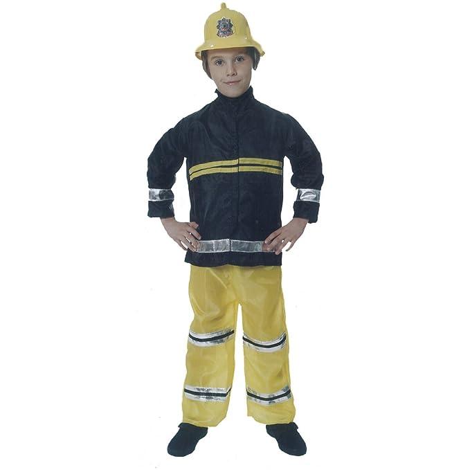 Henbrandt Niños Disfraz de bombero