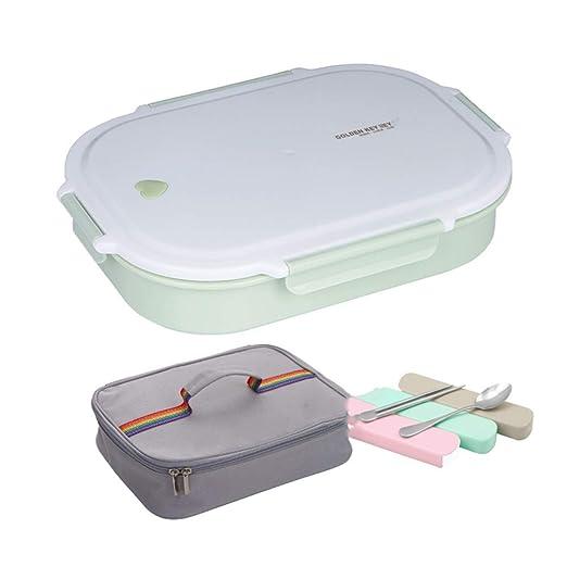 ZWYSL - fiambrera Bento Lunch Box Acero Inoxidable Sello A ...