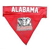 Pet Goods NCAA Alabama Crimson Tide Collar Bandana, One Size