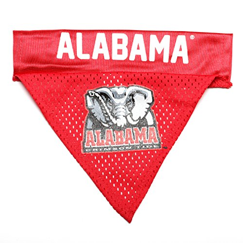 Pet Goods NCAA Alabama Crimson Tide Collar Bandana, One Size