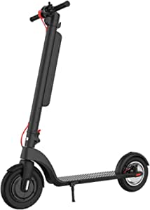 Electric Kick Scooters Adult Foldable Electric Scooter with Bluetoot Lightweight E-Scooter Maximum Speed 25Km/h Endurance 40Km Dual Brake System for Travel and Commuting