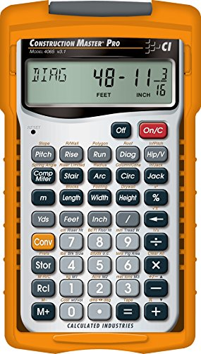 The 10 best construction master 5 calculator 4050 for 2020