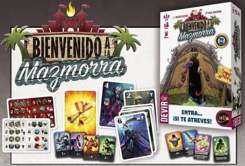 Devir - Bienvenido a la Mazmorra, Juego de Mesa (BGMAZ): Amazon.es ...