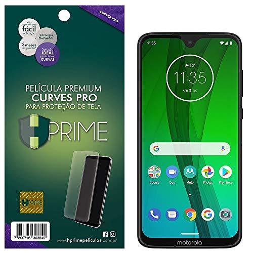 Pelicula Curves Pro para Motorola Moto G7/ G7 Plus, HPrime, Película Protetora de Tela para Celular, Transparente