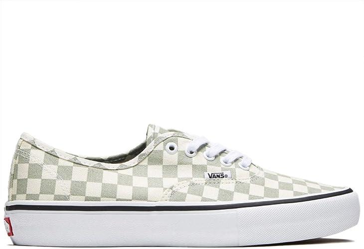 Vans Men Shoes Authentic Pro Checkerboard Desert Sage Sneakers VN000Q0DU13