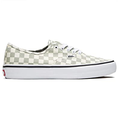 b80215d7fc Vans Men Shoes Authentic Pro Checkerboard Desert Sage Sneakers VN000Q0DU13  (10.5 D(M)