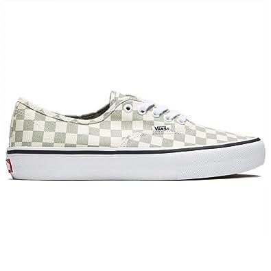 0268e6b36983 Vans Men Shoes Authentic Pro Checkerboard Desert Sage Sneakers VN000Q0DU13  (10.5 D(M)