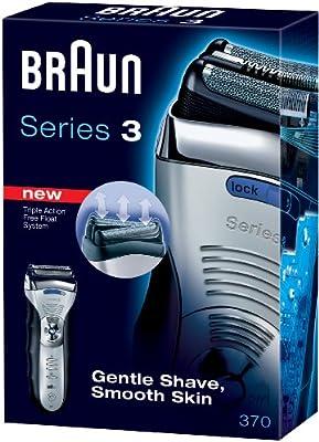 Braun - Afeitadora 370, plata: Amazon.es: Salud y cuidado personal