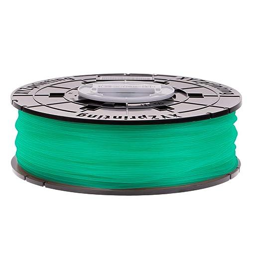 NFC PLA XYZprinting RFPLCXUS04E da Vinci Jr 600 g /& Mini Series Filament Clear Green