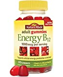 Nature Made Adult Gummies Energy B-12 Value Size-150 ct Cherry & Mixed Berries