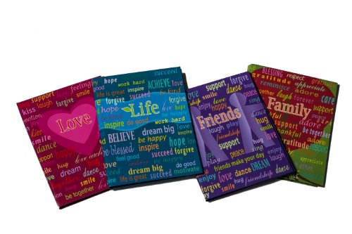 Ultra Pro Life Series 4 by 6-Inch Photo Album, Mini, 4-Pack ()