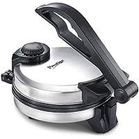 Prestige PRM 3.0 900-Watt Roti Maker (Silver) with Free Kitchen Plastic Manual Dough (Atta) Maker