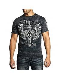 Affliction Combination Short Sleeve T-Shirt