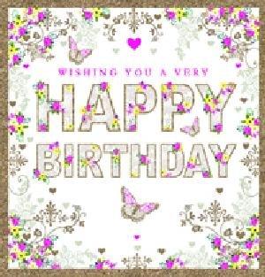 Tarjeta de felicitación (nq2086) - hembra cumpleaños - feliz ...