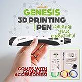 GENESIS 3D Printing Pen with Bonus Filament Refills