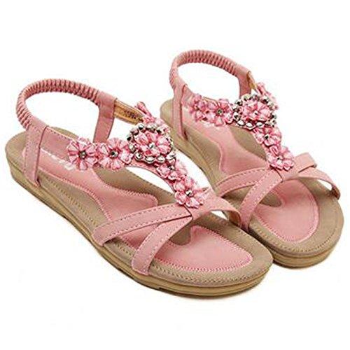 SUNAVY - Zapatos de tacón  Mujer Rosa