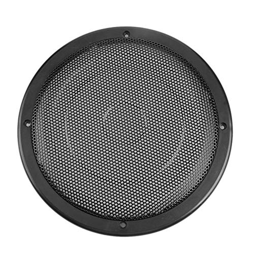 r Stereo Speaker Metal Mesh Subwoofer Protective Grill Cover (Black) ()