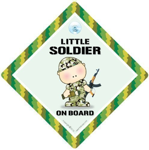 Little Soldier On Board, Little Soldier On Board Car Sign, Car Sign, Bumper Sticker, Baby on Board, Driving Sign, Automobile Sign, Vehicle Sign, Baby on Board, Decal, Bumper Sticker, Car Sign, Soldier Sign, Army Sign, Daddy's Little Soldier, Baby Sign, Bab