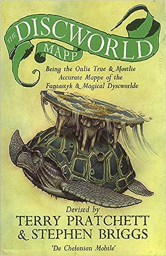 The Discworld Mapp: Amazon co uk: Stephen Briggs, Terry Pratchett