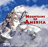 Mountains of America 2020 Scenic Calendar