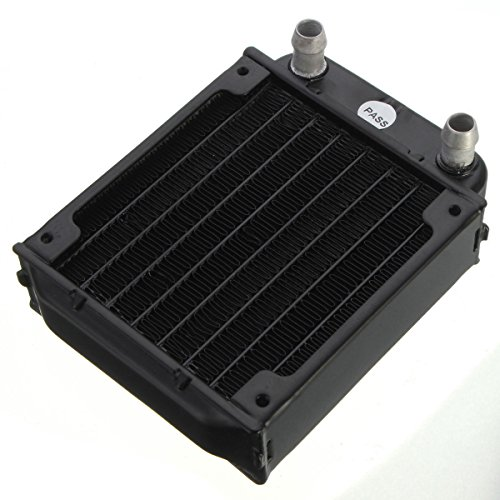 Hummer Blanket (One Pcs 80mm Aluminum computer radiator water cooling cooler for CPU heatsink)