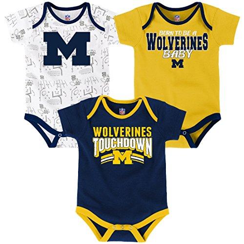 ncaa-michigan-wolverines-children-boys-playmaker-3piece-onesie-set-0-3-months-dark-navy