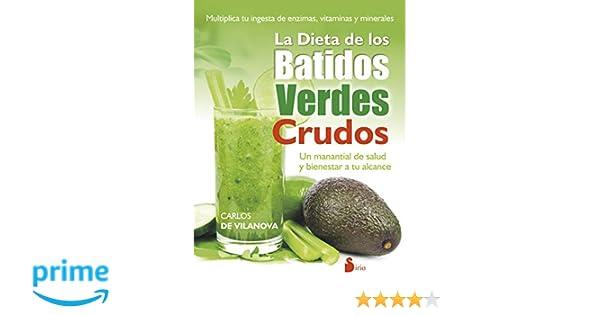 Amazon.com: La dieta de los batidos verdes crudos (Spanish Edition ...